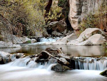 Senderos de agua en Almería para el buen tiempo
