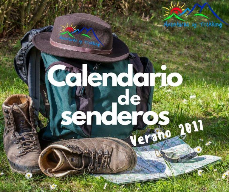 Calendario de Senderos Verano 2017