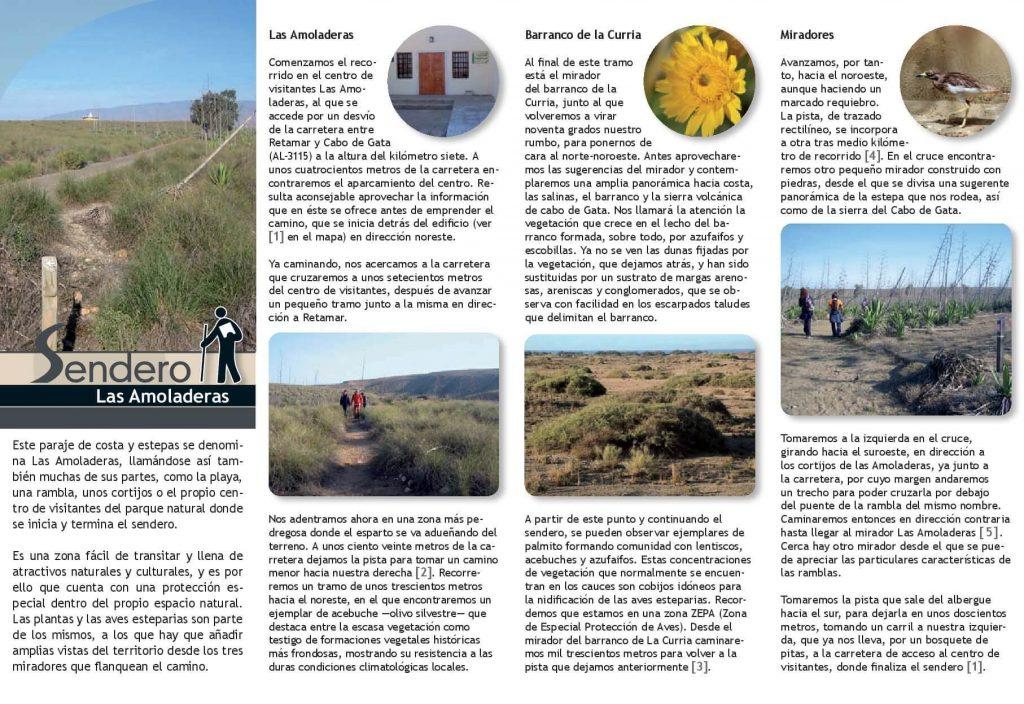 Triptico 2 Ruta Senderismo Las Amoladeras