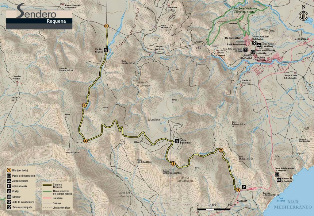 Mapa Sendero Requena