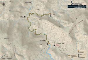 Mapa Caldera de la Majada Redonda