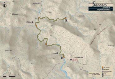 Sendero La Caldera de la Majada Redonda
