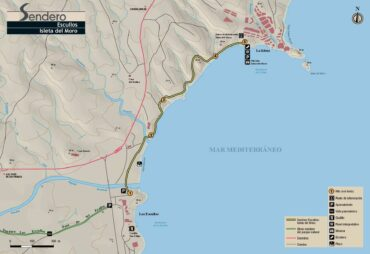 Sendero Escullos a Isleta del Moro