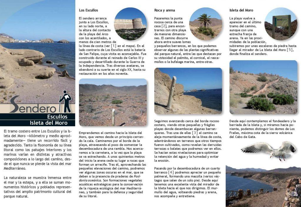Triptico 2 Escullos a Isleta del Moro