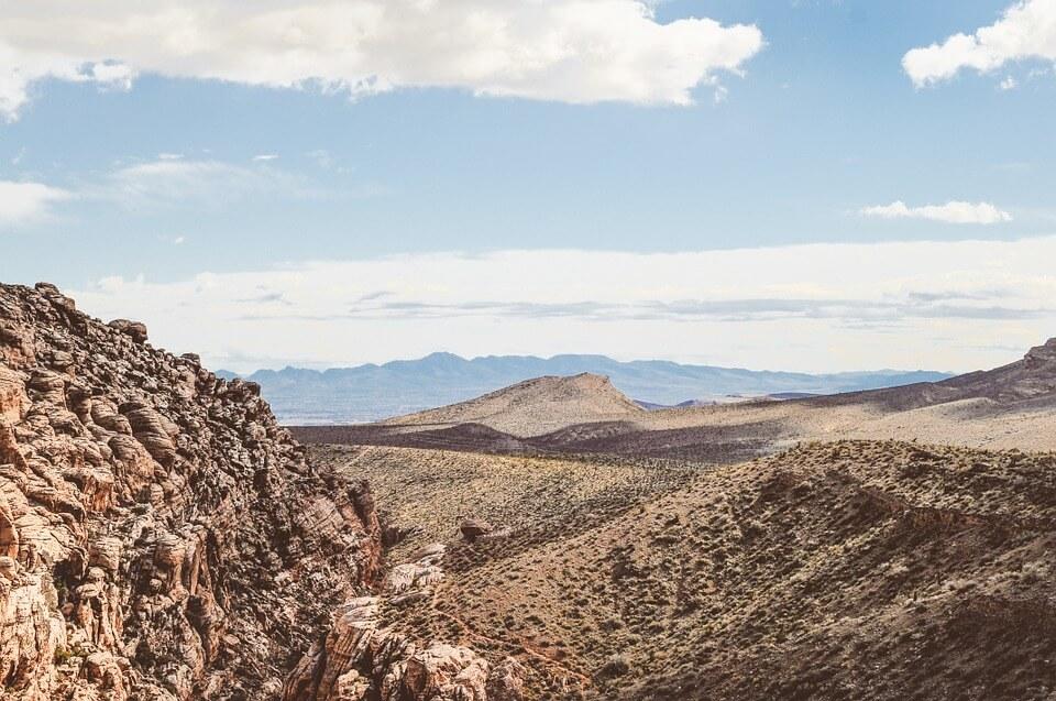 Sendas de Almería - Vista del desierto